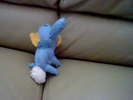 mudkip plush (back) by yoshifan12