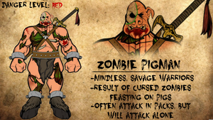 Zombie Pigman Journal Entry by Vectorman316