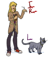 XME: WMBS Illyana And Lockheed by LochCamaen