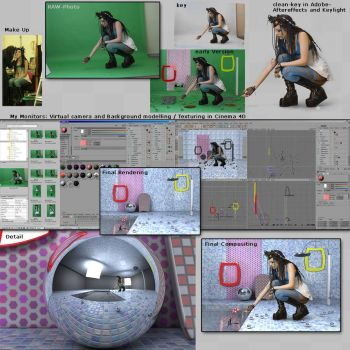 Making Of Bademeister by hoschie