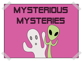 Mysterious Mysteries Poster by Reitanna-Seishin