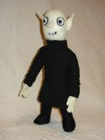 Nosferatu plush by silentorchid