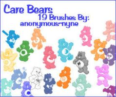 Care Bears PSP9 Brushes by anonymous-nyne
