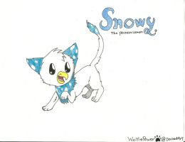 Snowy the Phoenixmon by WolfiePower