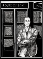 The Ninth Doctor by Derogatorylt