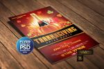 Thanksgiving Flyer Template by Grandelelo