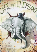 Cage the Elephant by paandra