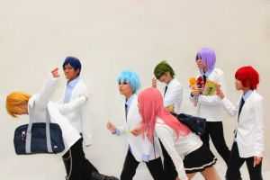 Kuroko no Basuke After School! by sharuruka