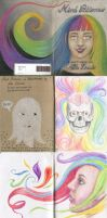 Mind Patterns - The Sketchbook Project 2013 by nelchee