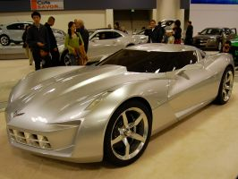 Transformer Edition concept car Corvette Stingray by Partywave