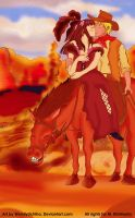 Love in the Old West by WendyUchiha