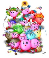 Kirby Super Star by leamatte