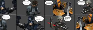 Injustice: Batman vs Snake/Deathstroke vs Raiden by xXTrettaXx