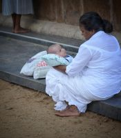 Kataragama Temple. People 15 by jennystokes