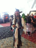 Otakon 2011-Jack Sparrow by SweeneyT-DemonBarber
