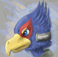 Falco Portrait by Kosmotiel