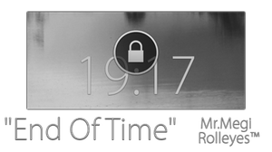 End Of Time WidgetLocker Theme by MrMegi