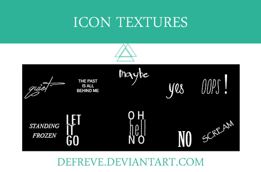 Textures - Defreve [ICON] by Defreve