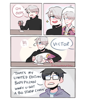 YOI: VICTOR'S IN TROUBLE by Randomsplashes