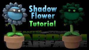 Shadow Flower PvZ (Check Video Tutorial :D!) by CraftDragons