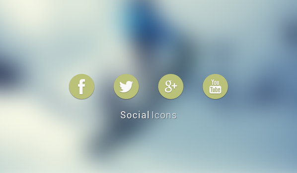 Social Icons by AlexJMiller