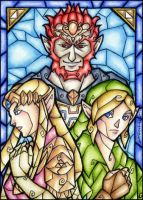 ATC: The Chosen :Stained-Glass: by 1000Dreams