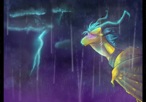Fond of Storm by Dark-Spine-Dragon