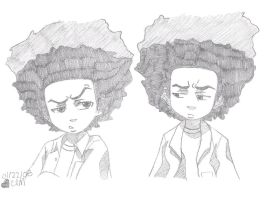 HUEY FREEMAN by MiSSZSN0WFlAKE