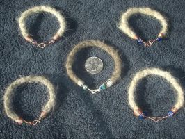 Five Bracelets by Wolf-of-Samhain