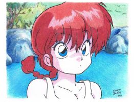 Ranma 1/2 by dinoradar