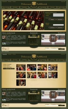 Wine Factory Site redesigned by haadesm