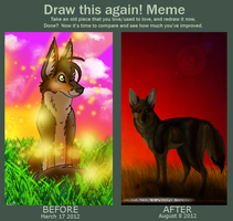 -MEME- Before and After by GraffitiMutt