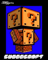? Block Man by Flames2Earth
