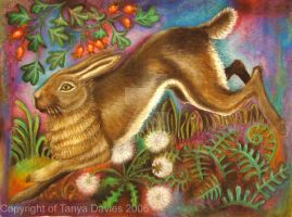 Autumn Hare by ALICE-on-ACID
