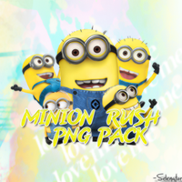 Minion Rush PNG Pack -Selenator by DeMiLena1875