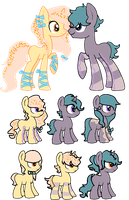 Breed Results 4 [4/6 OPEN] by redroseadopts