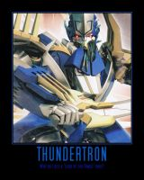Transformers: Prime Thundetron by Onikage108