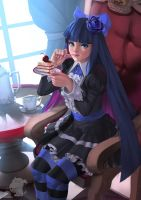 Stocking (Fan-artism) by doghateburger