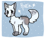 Dog Adopt - AUCTION - { w i n t e r } - OPEN by Maes-adopts