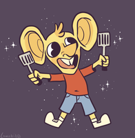 Ratboy Spatula by Comickit
