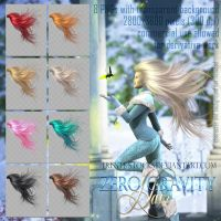 Zero Gravity Hair #1 by Trisste-stocks