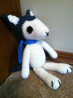 Wolf Children Ame and Yuki Plush Crochet Pattern by Ookamichan423