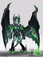 MLP demon guard pony auction 38 CLOSED by ElkaArt