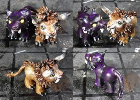 WOW Pony Custom Cat Form by Beetlecat