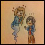 Hiro and me or whatever by LillikittyPony