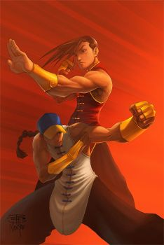 Yun Yang StreetFighter Tribute by Norke