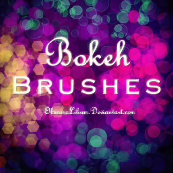 Bokeh Brushes by ObscureLilium