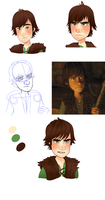 Hiccup Practice by SlashAnimateYUS