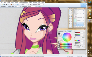 Working on Roxy by Qba016