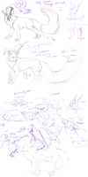Sketchdump by Maulise